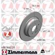 Zimmermann Bremsscheiben + Bremsbeläge hinten Merceds M R GL Klasse