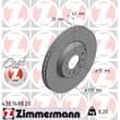 Zimmermann Bremsscheiben + Bremsbeläge vorne Opel Astra G Zafira A Saab 9-3 9-5 + Cabrio Kombi