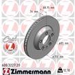 Zimmermann Bremsscheiben + Bremsbeläge vorne Audi Q7 Porsche Cayenne VW Touareg
