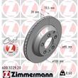 Zimmermann Bremsscheiben + Bremsbeläge VA+HA Audi Q7 Porsche Cayenne VW Touareg 1LL 1LM 1KW 1KY