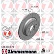 Zimmermann Bremsscheiben + Bremsbeläge VA+HA Volvo S60 I S80 I V70 II XC70 Cross Country