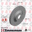 1 Zimmermann Sportbremsscheibe 100.3319.52 Audi A6
