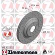 2 Zimmermann Sportbremsscheiben hinten Audi A6 C6 für PR-Nummer 1KW 2EE 2EL