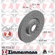 Zimmermann Sportbremsscheiben + Textar Bremsbeläge Audi A6 + Avant für Pr Nr. 1LX