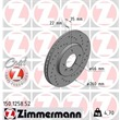 1 Zimmermann Sportbremsscheibe 150.1258.52 BMW 3er Z1