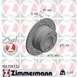 1 Zimmermann Sportbremsscheibe 150.1287.52 BMW Z3