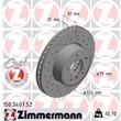 Zimmermann Sportbremsscheiben + Bremsbeläge vorne BMW E65 730 735