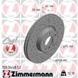 1 Zimmermann Sportbremsscheibe 150.3448.52 BMW X5 X6