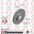 Zimmermann Sportbremsscheiben + Bremsbeläge vorne Fiat Brava Bravo Marea