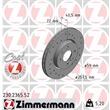 Zimmermann Sportbremsscheiben + Bremsbeläge vorne Alfa Romeo Mito 955 1,3 JTDM Bj bis 09/2010