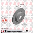 1 Zimmermann Sportbremsscheibe Mercedes