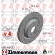 1 Zimmermann Sportbremsscheibe 400.3661.52 Mercedes S-Klasse