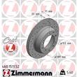 1 Zimmermann Sportbremsscheibe 460.1511.52 Porsche 924 928 944