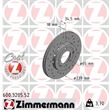 Zimmermann Sportbremsscheiben + Bremsbeläge vorne Seat Arosa VW Lupo Polo 6N