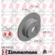 1 Zimmermann Sportbremsscheibe 610.1197.52 Volvo 850 C70 S70 V70