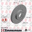Zimmermann Sportbremsscheiben + Bremsbeläge vorne BMW X5 E53 3,0 4,4 + xDrive