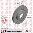 1 Zimmermann Sportbremsscheibe 150.1294.52 BMW 3er Z4