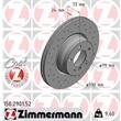 Zimmermann Sportbremsscheiben + Bremsbeläge vorne vorne BMW F23 F30 F32 F36