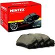 Mintex Bremsbeläge hinten Porsche 911 Boxster Cayman