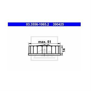 ATE Verschluss, Bremsflüssigkeitsbehälter