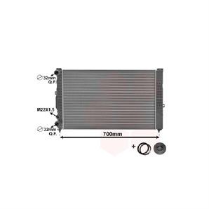 Van Wezel Wasserkühler für Audi A4 A6 Skoda Superb VW Passat +Variant kaufen | Autoteile-Preiswert