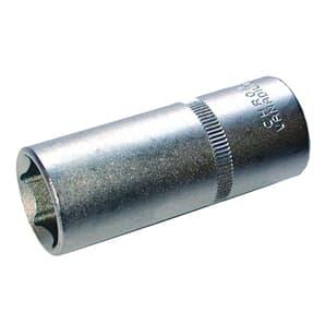 """SW-Stahl Steckschlüsseleinsatz 1/4"""" 13mm extra tief"""