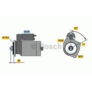 Bosch Anlasser für Audi Q7 Porsche Cayenne VW Touareg 3,0 TDI V6 TSI kaufen | Autoteile-Preiswert