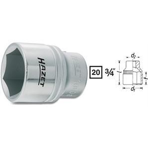 """Hazet 3/4"""" Stecknuss 24mm"""