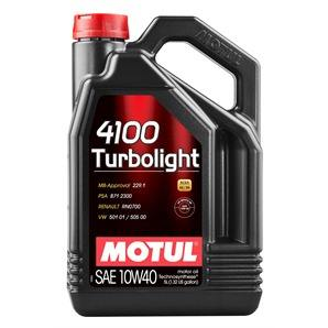 5 Liter Motul 4100 Turbolight 10W-40
