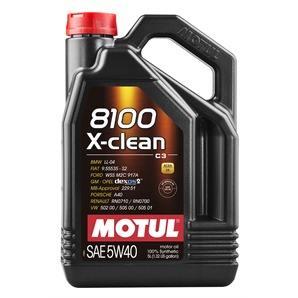 5 Liter Motul 8100 X-Clean 5W-40
