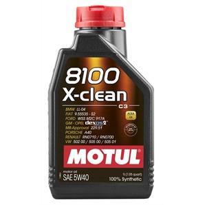 1 Liter Motul 8100 X-Clean 5W-40