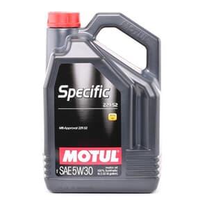 Motul Specific MB 229.52 5W30 5 Liter
