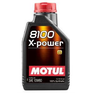 1 Liter Motul 8100 X-Power 10W-60
