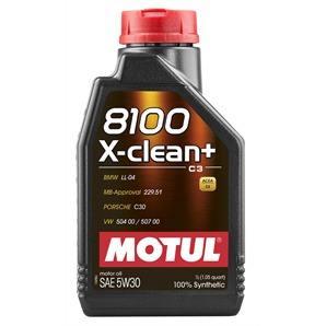 1 Liter Motul 8100 X-Clean+ 5W-30