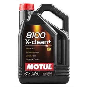 5 Liter Motul 8100 X-Clean 5W-30 Longlife