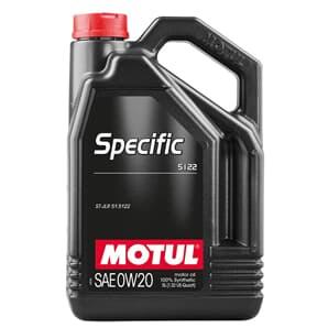 Motul SPECIFIC 5122 0W20 5 Liter