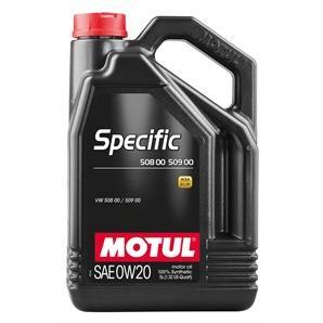5 Liter Motul Specific 50800/50900 0W-20