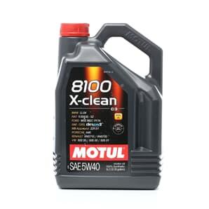 Motul 8100 X-clean 5W40 5 Liter ERSETZT 102051