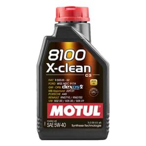 Motul 8100 X-clean 5W40 1 Liter ERSETZT 102786