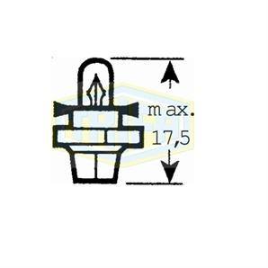 Autolampen Kfz-spezifisch 12V1.2WB8.5D