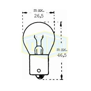 Auto-Lampe 12V 18WS