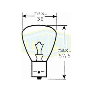 Auto-Lampe 12V 45W