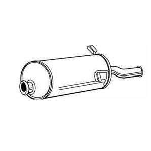 Endschalldämpfer Citroen Xsara bei autoteile-preiswert kaufen