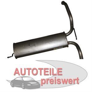 MTS Endschalldämpfer Citroen C1 Peugeot 107 Toyota Aygo bei autoteile-preiswert kaufen