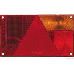Elparts Lichtscheibe Heckleuchte rechts 3-Kammerleuchte ohne Nebelschlusslicht