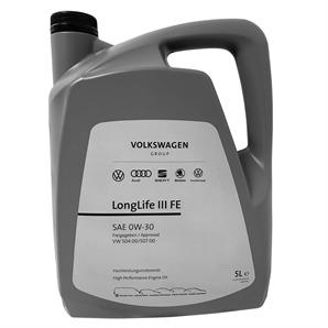 Original VAG Motoröl LL III FE 0W-30 5 Liter  kaufen - Autoteile-Preiswert