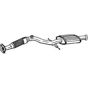 Vorschalldämpfer Hyundai Matrix FC 1.6 bei autoteile-preiswert kaufen