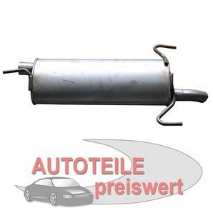 Endschalldämpfer Opel Astra bei autoteile-preiswert kaufen
