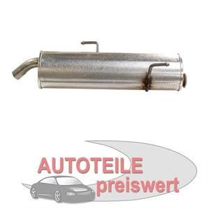 MTS Endschalldämpfer Peugeot 206 bei autoteile-preiswert kaufen