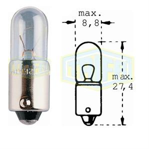 Auto-Lampe 24V 4W